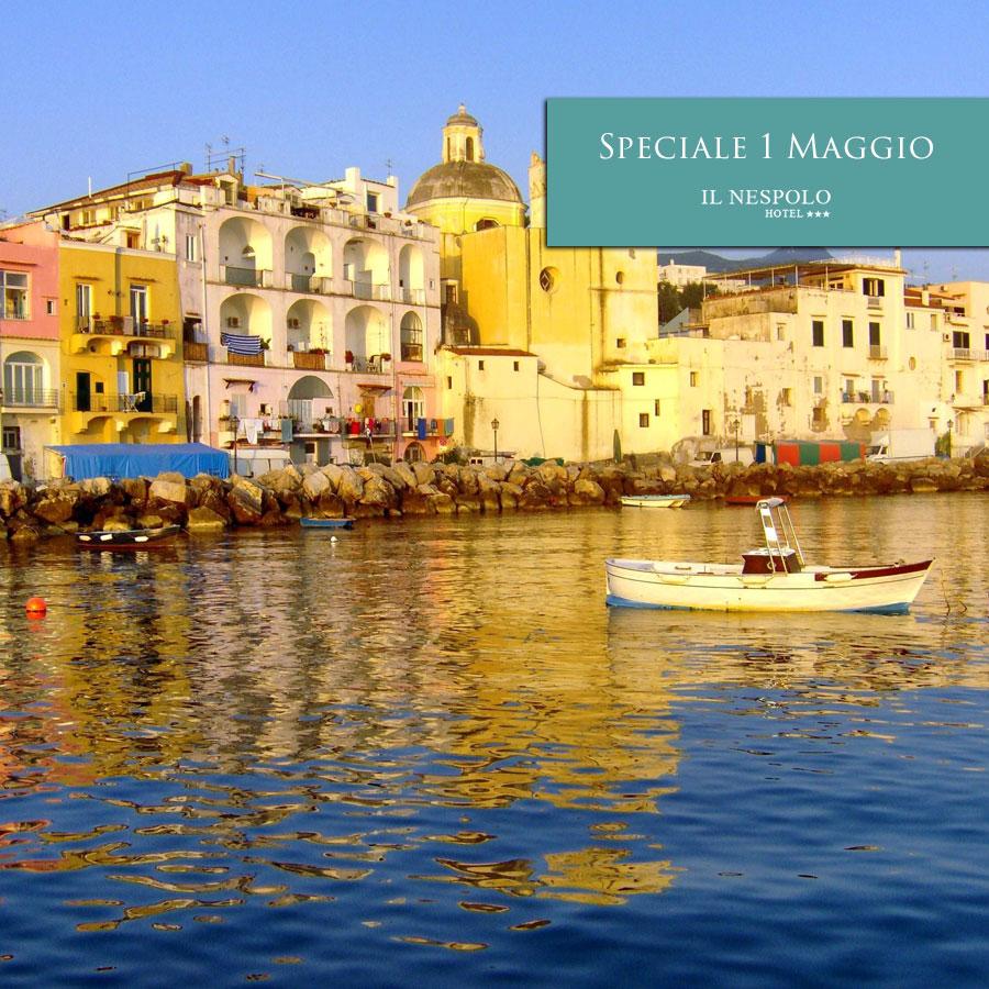 Offerta Last Minute 1 Maggio ad Ischia all'Hotel Il Nespolo
