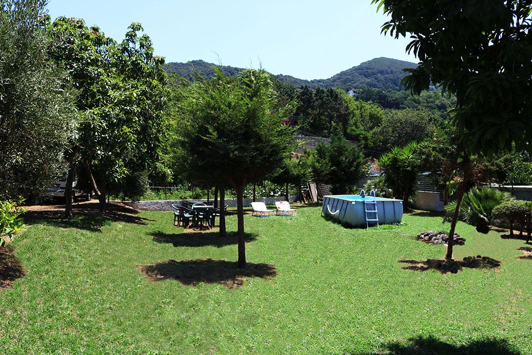 Casa vacanze ischia appartamenti panoramici con giardino for Appartamenti ischia